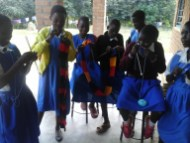 At Bandawe school the students learn also some profession