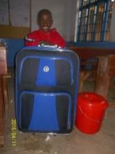Gift and his huge luggage