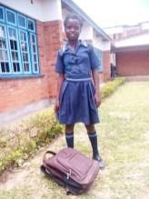 Katie back to school