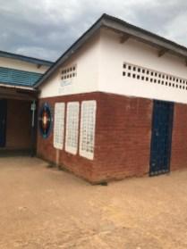 The main yard at Wukani Education Facility