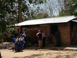 Tea break at Bandawe