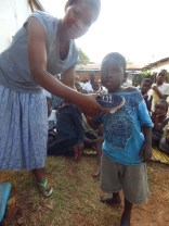 Distribution of shoes