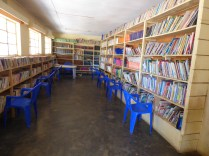 The library at Trust academy
