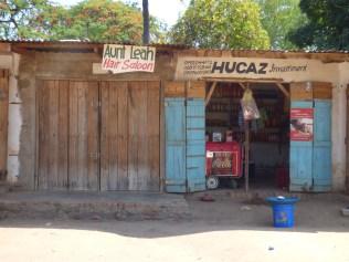 Local shop in Nkhata Bay
