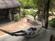 Gift, the hammock and still the camera