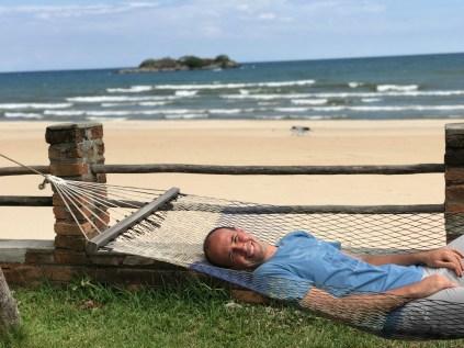 Mauro on the hammock