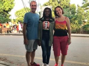 Laura, Mauro and Mtisunge