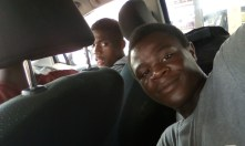 Wit and Ramos in the car to Lunjika