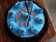 Gift's cake
