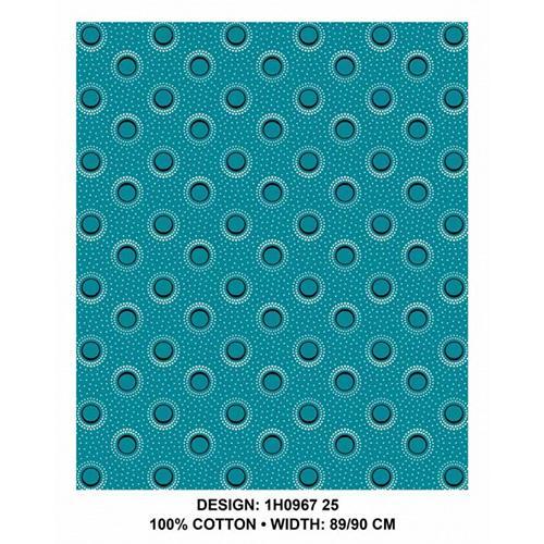 3 Cats Fabric - CW25 ShweShwe Fabric Per Meter