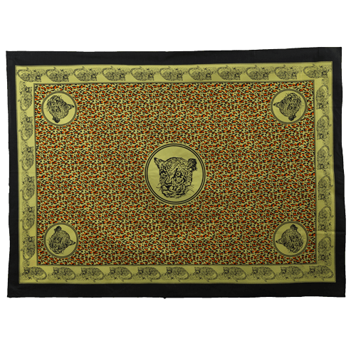 Fabric - Animal Khanga / Cheetah