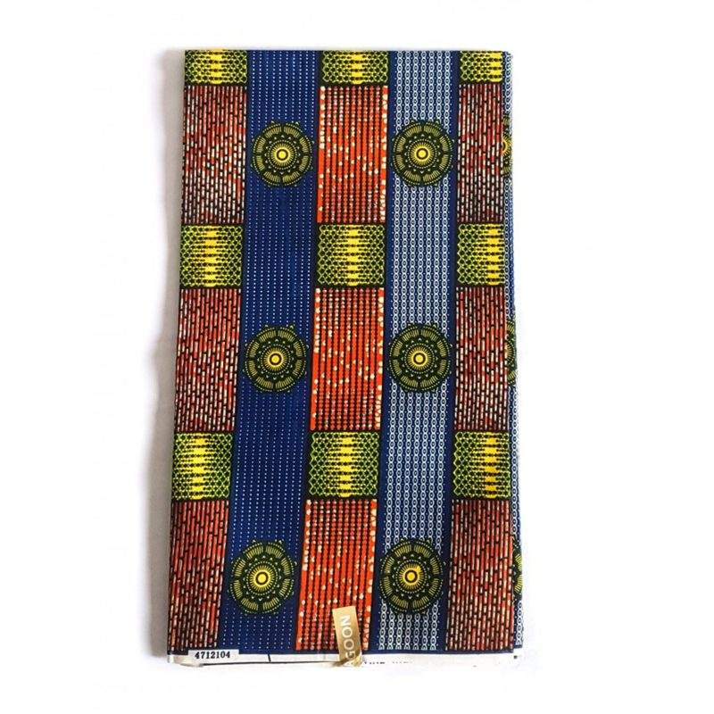 Bolt African Print Fabric Poly