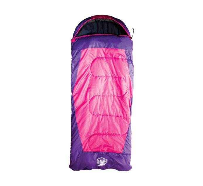 Camp Junior 200C Sleeping Bag Pink