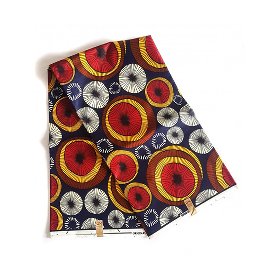 Fans African Print fabrics Anka