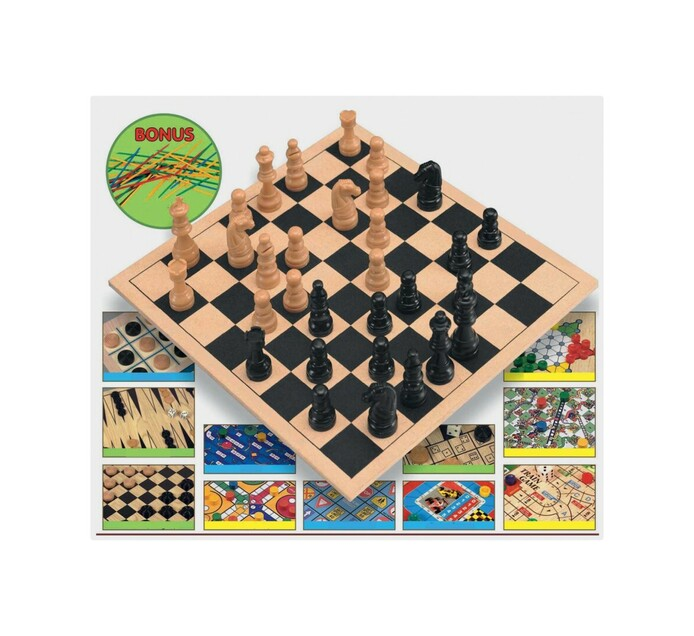 First Learning 12 Game Super Set and Pick Up Sticks