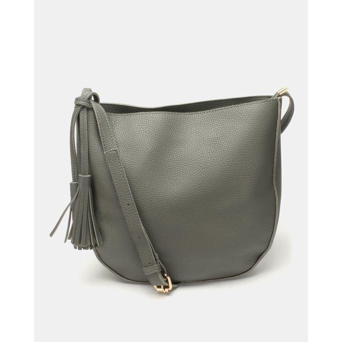 Joy Collectables Classic Crossbody Bag Grey