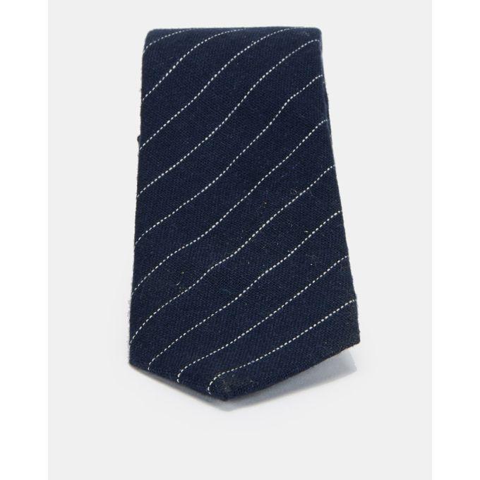 joy Collectables Fashion Stripe Tie Navy