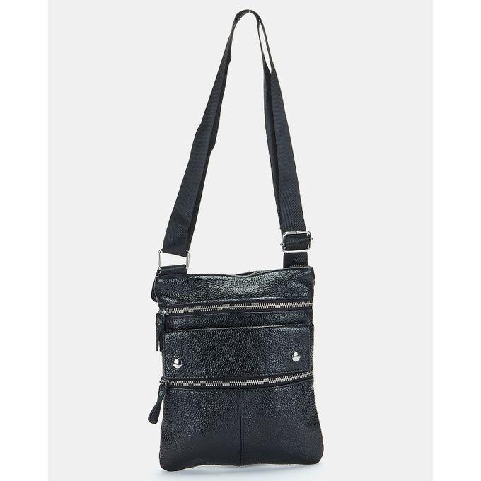 Joy Collectables Leather Corssbody Bag Black