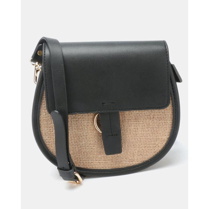 Joy Collectables Simple Crossbody Bag Black