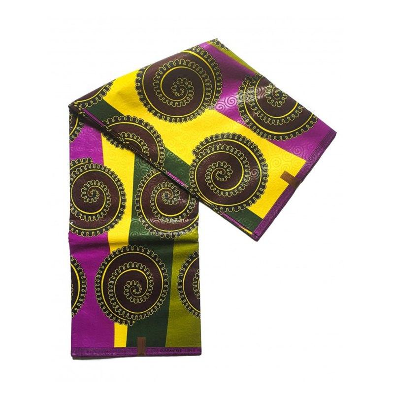 Lava African print fabric