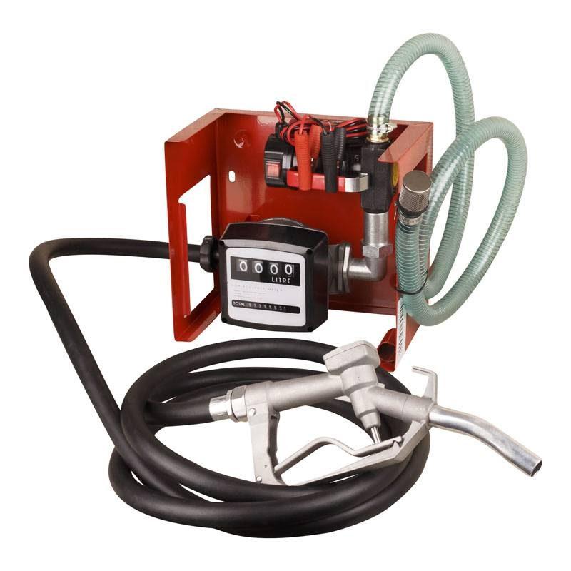 12V Diesel Pump with Meter