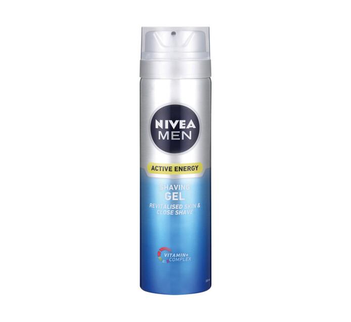 Nivea Shaving Gel Active Energy (1 x 200ML)