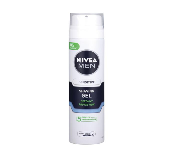 Nivea Shaving Gel Sensitive (1 x 200ML)