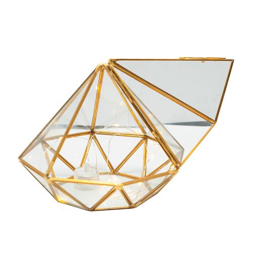 Pyramid Design Center Piece + Fairy Light