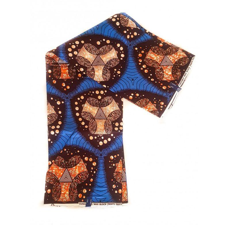 Pyramid Star African Print Fabric