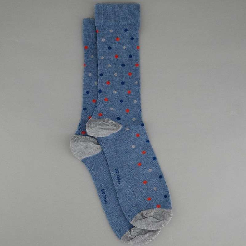MEN'S CLYDE SPOTTED SOCK