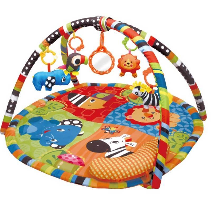 Cicilove Playmat Roll and Joy Activity Safari Gym Playmat