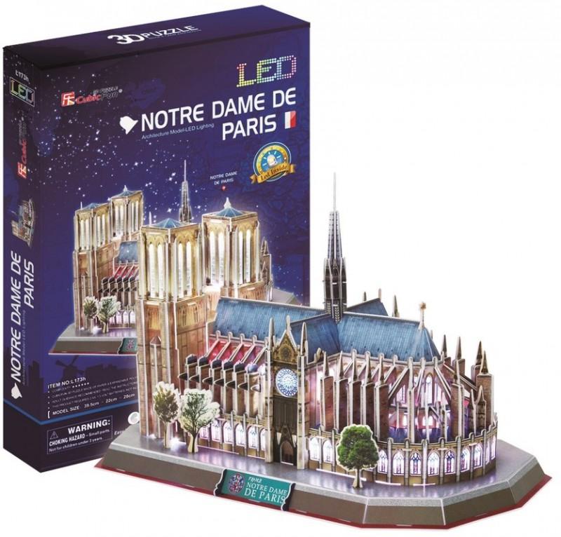 Notre Dame Paris 149pcs Led