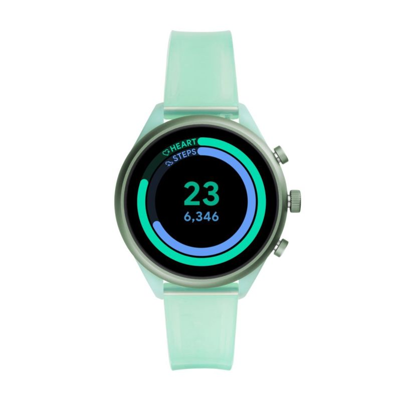 Fossil Sport 41mm Mint Silicone - FTW6057