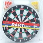 Dart Board With Darts
