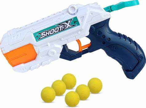 Water Gun 2-In-1 Foam Balls, 7-Piece