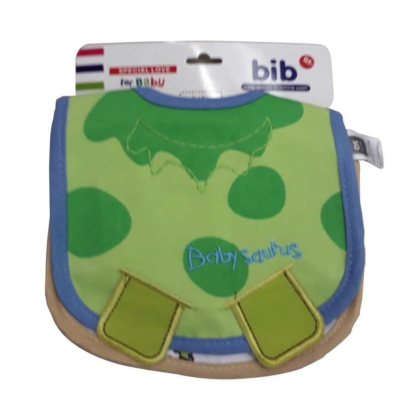 Free Range Toys 2 Pack Boys Bibs Assorted Colours