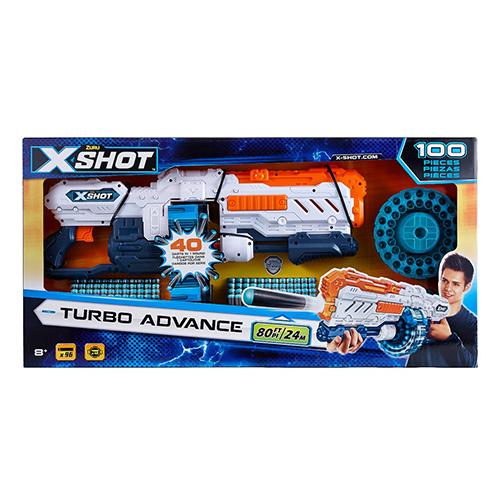 X-shot Turbo Advance 100 Pce