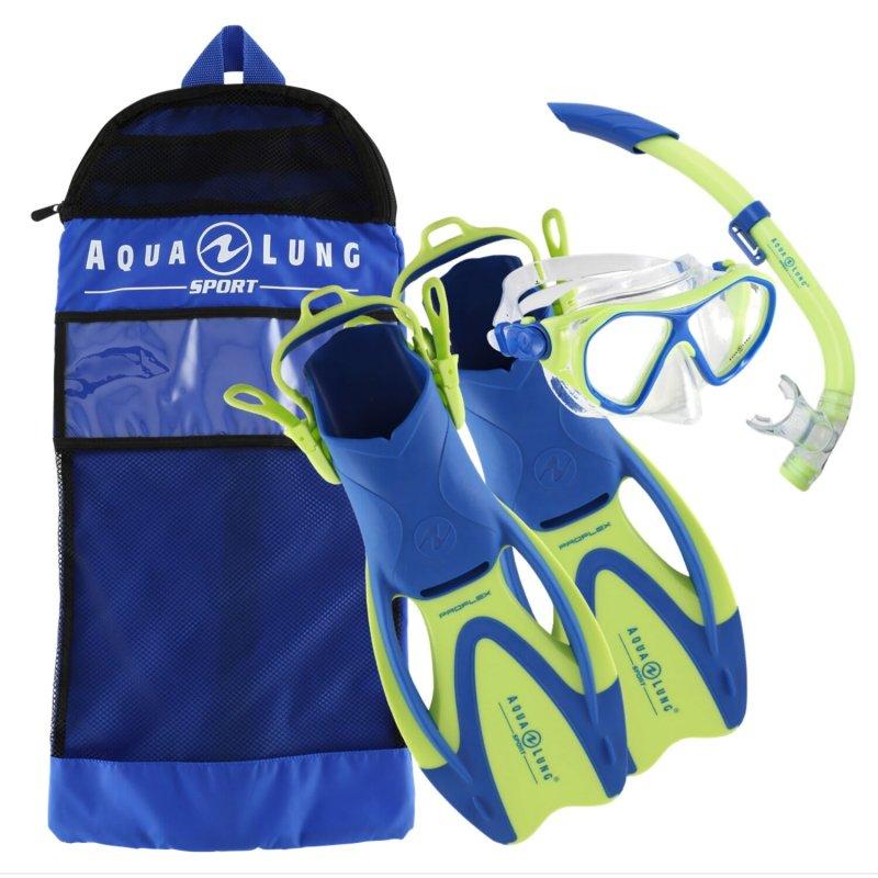 Aqualung Junior Urchin Mask, Snorkel and Fin Set