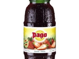 Jus de fruits Pago Fraise 20cl
