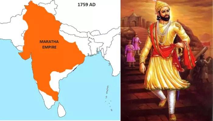Maratha Empire History In Marathi