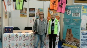 STAND MARATHON d'ALBI A LA ROCHELLE