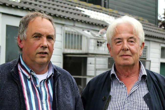 Fred Kramer en Cees Ouwehand, Wormer
