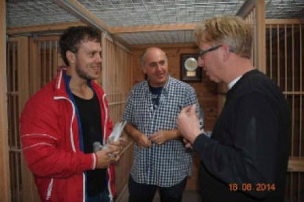 Johan en Fabian bij Gerard Koopmanedited