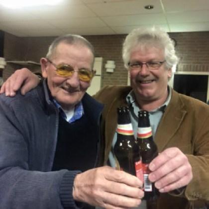 Cees Nijdeken met Jan Theelen