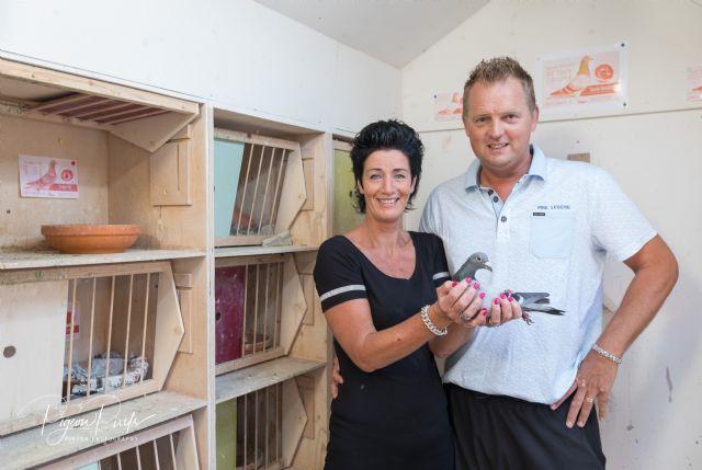 Gero Dijk, Alblasserdam, wint Agen ZLU bij de oude duiven en Internationaal