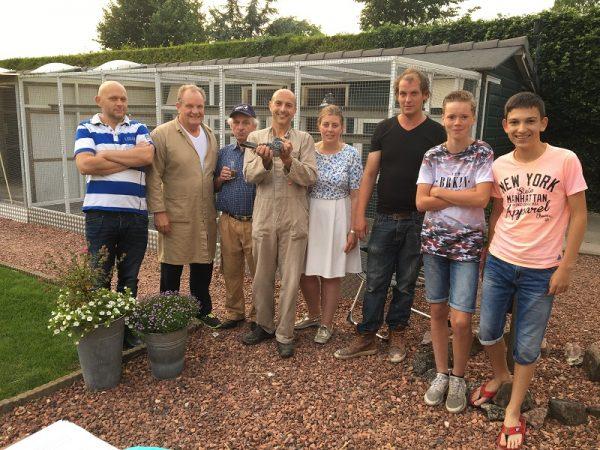 Batenburg-van der Merwe winnen Agen ZLU jaarlingen