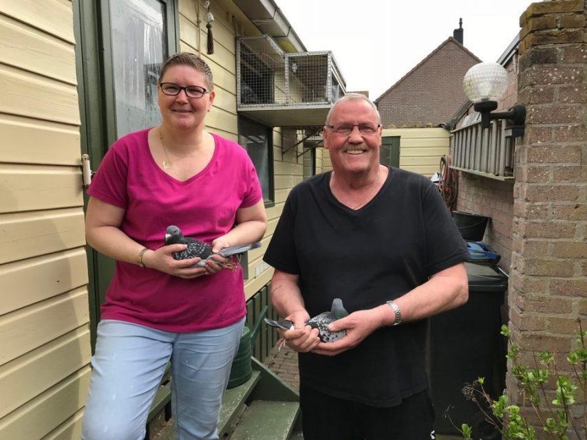 Tom & Bianca van Dee, Tiel, wederom Kampioen Marathonvluchten Afd. 7 (Deel 1)