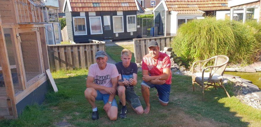 Robin, Joey en Gert Bakhuis, Westerhaar, wint nationaal Perigueux