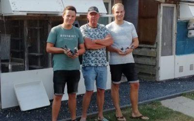 Jan Hommes en znn, Akersloot, IJzersterk op Middag- en Ochtendlossing (Deel 2)