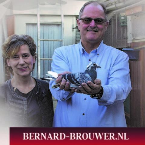 Bernard Brouwer, Breda, Onaang. Kampioen Marathon Brabant 2000 (1)
